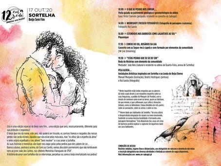 Lenda do beijo sem fim inspirada no dia de festa na Aldeia Histórica de Sortelha