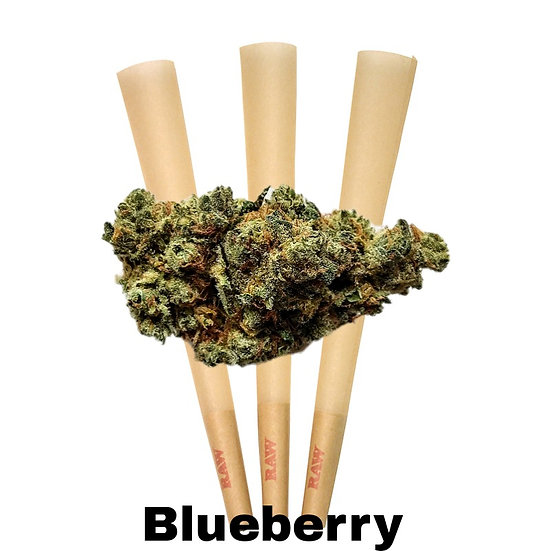 King Size Pre Rolls (Blueberry)