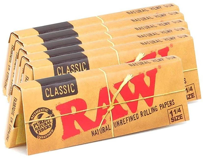 RAW 1 1/4 Size Rolling Papers