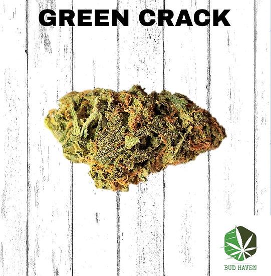 GREEN CRACK (Sativa) {$140/oz}