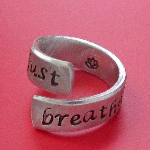Stamped Aluminum Wrap Ring