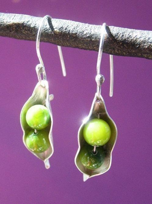 Two Peas Earrings