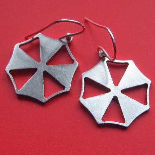 Resident Evil Umbrella Corporation Earrings