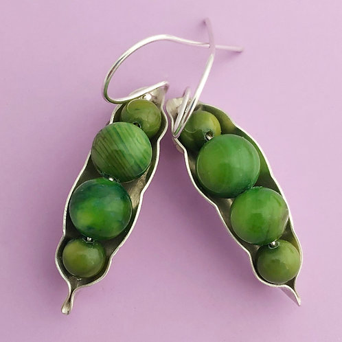 Four Peas Earrings