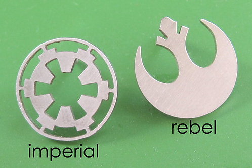 Star Wars Rebel or ImperiaI Insignia Pin Tie Tack