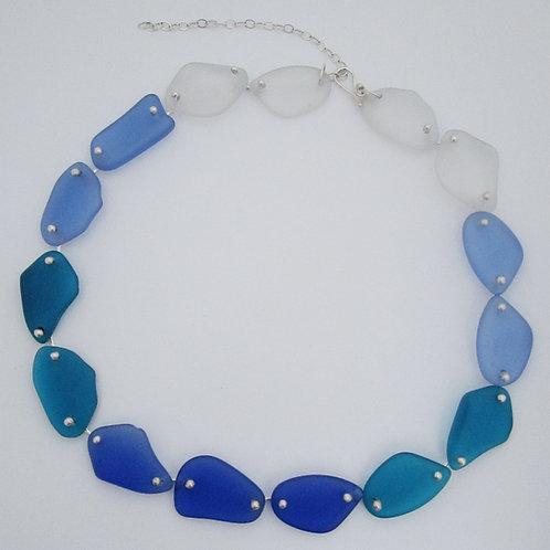 Gradient Seaglass Necklace
