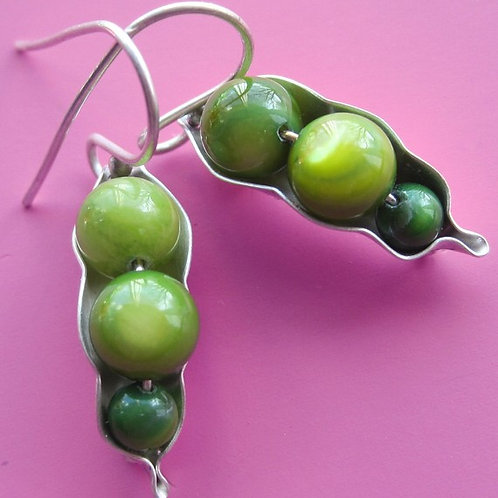 Three Peas Earrings