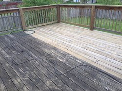 Before & After Pressure Washing