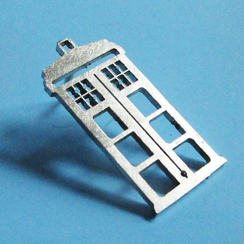 Dr Who Tardis Tie Tack or Pin