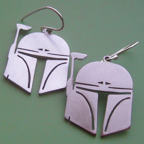Star Wars Boba Fett Earrings