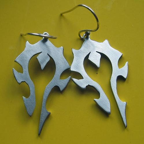 WOW World of Warcraft Horde Earrings