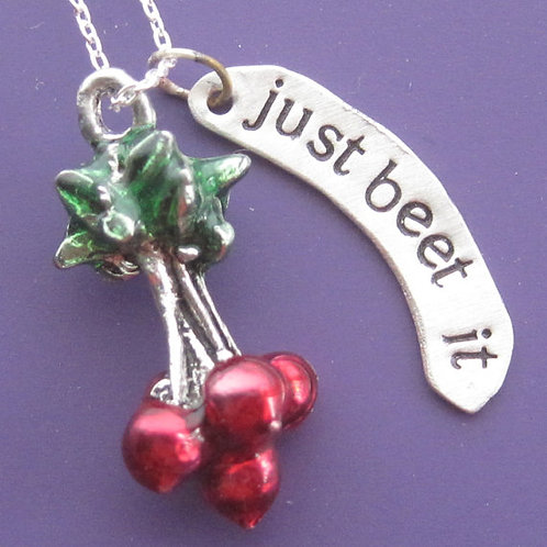 Beet It Necklace