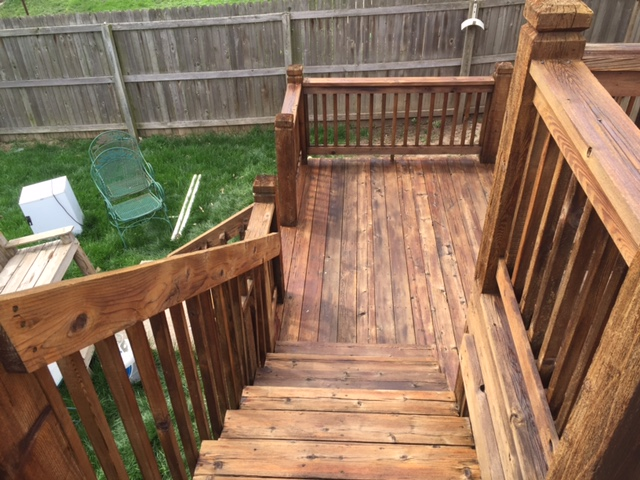 Classically Stained Deck