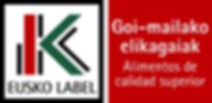 sello Eusko Label