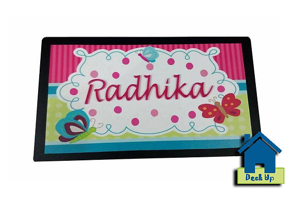 Name Plate - Wooden Plank (Customized Product)