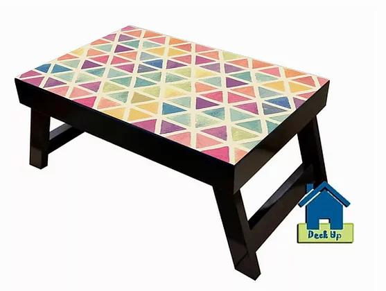 Foldable Table w/o Sections - Diamond Hues