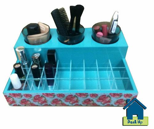 Make Up Organizer - Garnet Rose - Blue