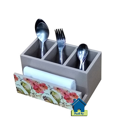 Cutlery Holder - Bird's Galore