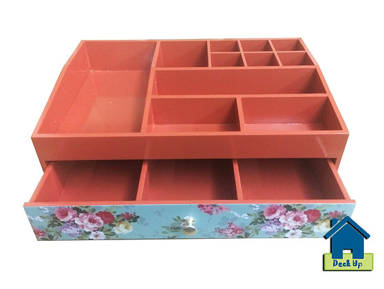 Make Up Organizer - Floored - Deep Peach