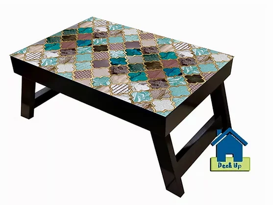 Foldable Table w/o Sections - Moroccan Warm Hues