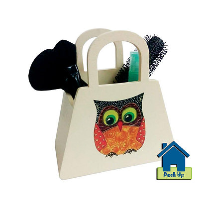 Comb Stand-Owl Craft