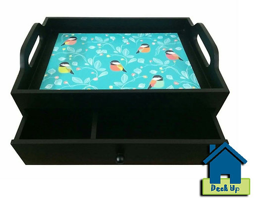 Drawer Tray - Spring Sparrow - Two Compartment