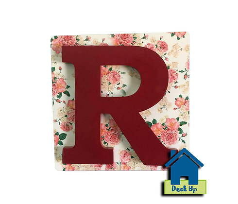 Name Plate - Wooden Letter (Customized Product)