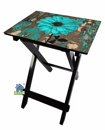 Collapsible Table - Classic Teal