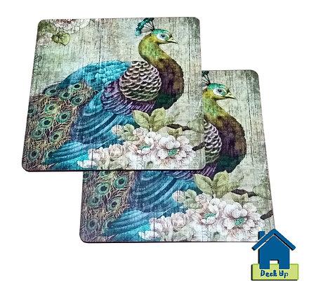 Trivet/Mats - Peacock Dance