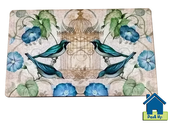 Trivet/Mats - Blue Jay