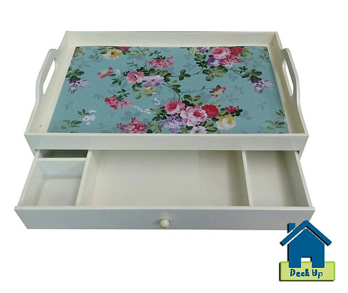 Drawer Tray - Floored - Three Compartment