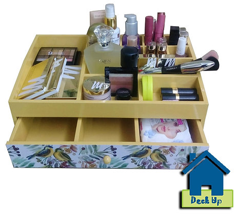 Make Up Organizer-Two For Joy - Butter Cup