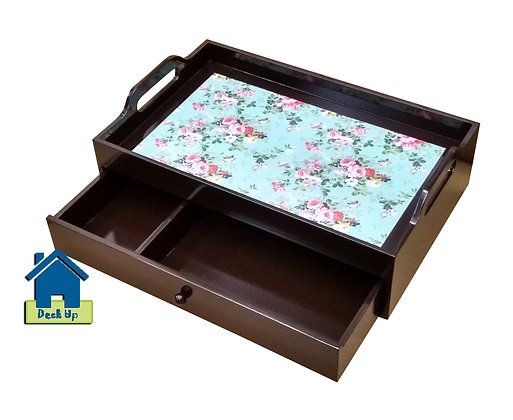 Drawer Tray - Floored - Two Compartment