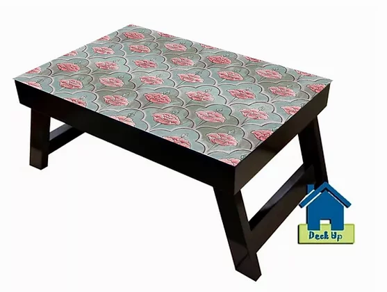 Foldable Table w/o Section - Moroccan Floral Olive