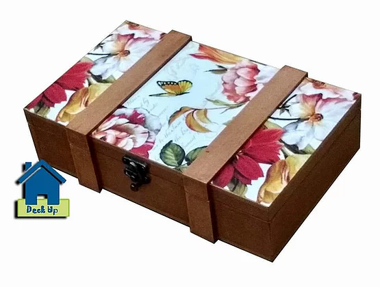 Suitcase Style Box - Sunset Bloom