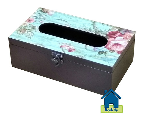 Tissue Box - Sea Foam Green