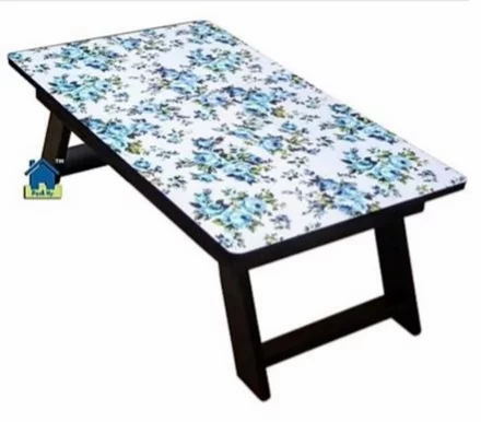 Foldable Bed Table - Blue Bloom
