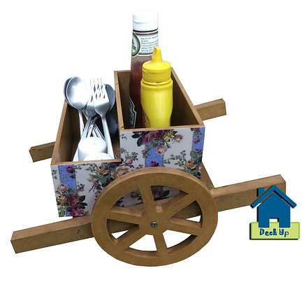 Cutlery Holder - Cart - Very English