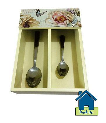 Cutlery Holder - Fleurs