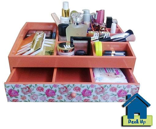 Make Up Organizer-Pretty Peach
