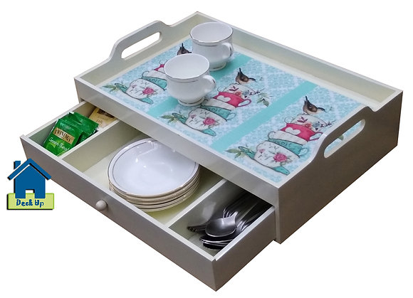 Drawer Tray - Morning Chirp - Three Compartments