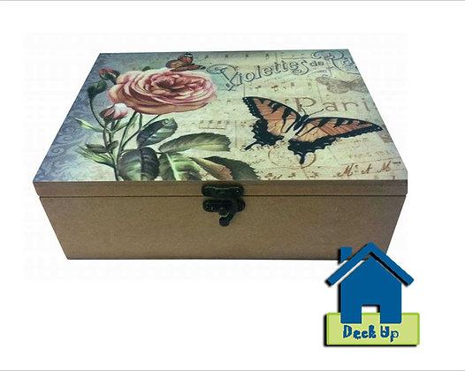 Tea Bag Box - Vintage Bloom
