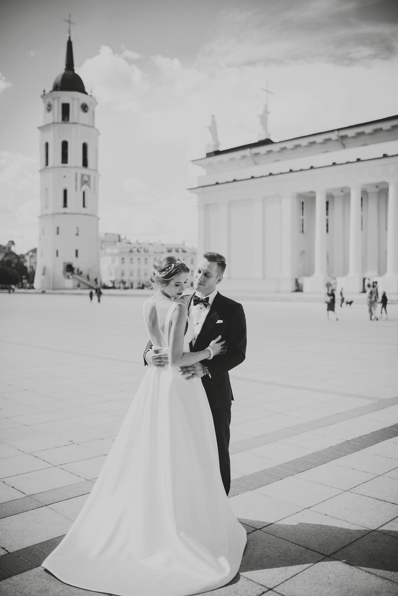 Jaunavedžių fotosesija Vilniuje