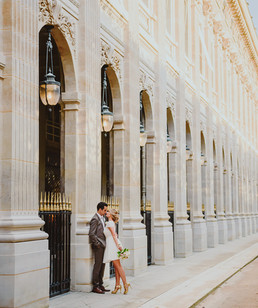 Vestuvės Paryžiuje