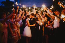 Vestuvės bengališkos ugnelės