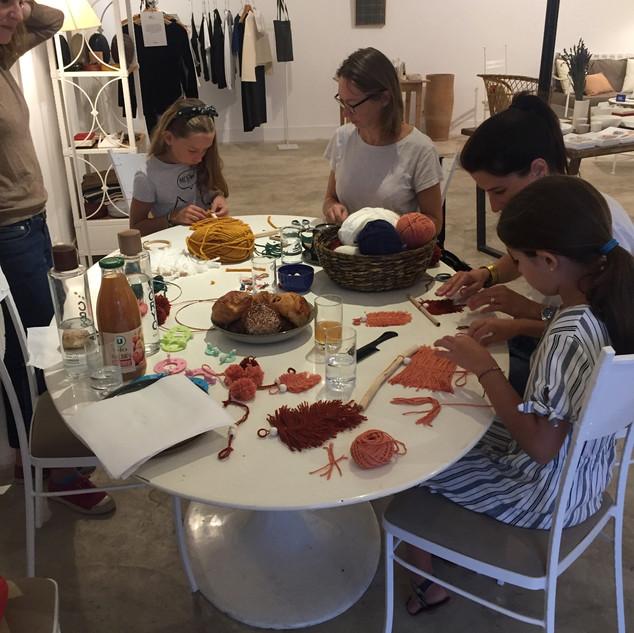 Atelier à 4 mains avec Laurie Lecou