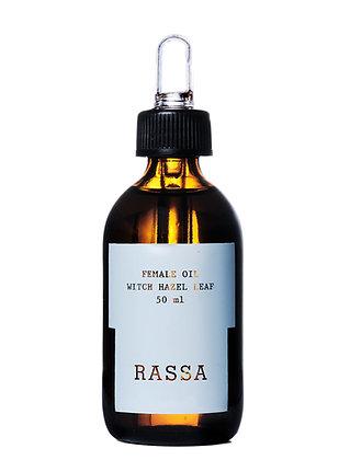 Rassa botanicals, huile intime