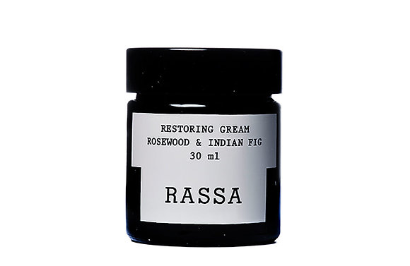 Rassa botanicals, crème restauratrice