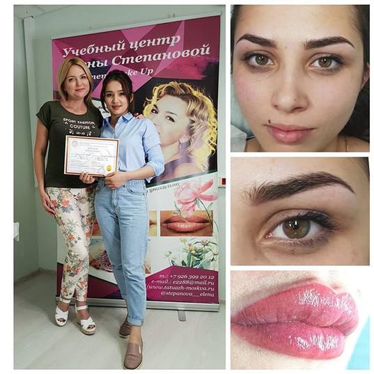 Базовое обучение перманентному макияжу )