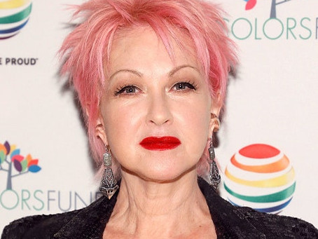 That Time I had lunch with Cyndi Lauper
